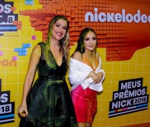f5d45416a3dfa No Meus Prêmios Nick 2018  Larissa Manoela e Ingrid Guimarães tomaram banho  de slime também