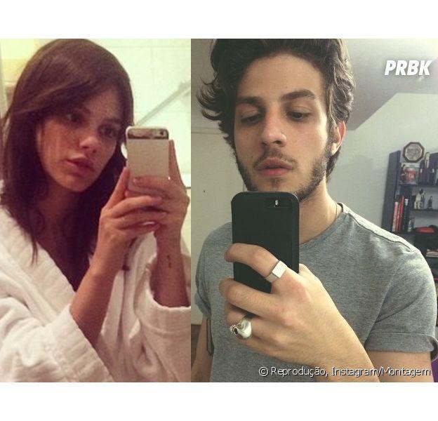 Chay Suede e Laura Neiva estão namorando