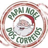 O Natal está chegando e você precisa conhecer o Papai Noel dos Correios
