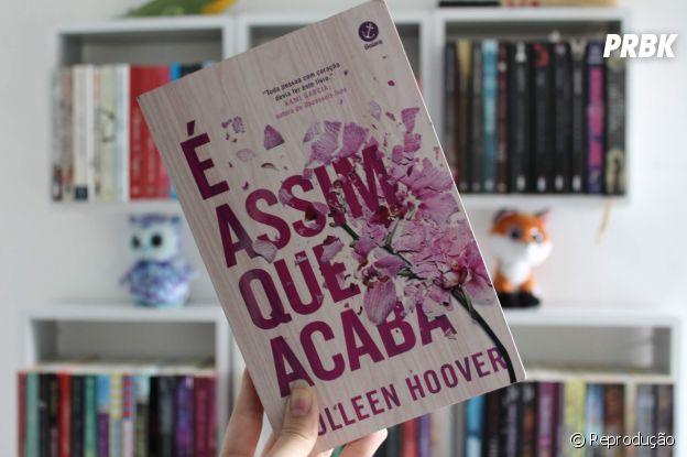 """Livro """"É Assim Que Acaba"""", da Colleen Hoover"""