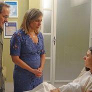 """Na novela """"Boogie Oogie"""": Sandra perde o filho e revela troca de bebês aos pais!"""