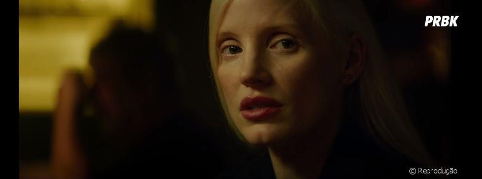 """Trailer de """"Fênix Negra"""" mostra a vilã de Jessica Chastain e que personagem ainda é um mistério"""