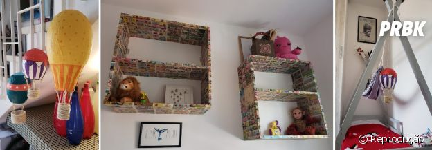 Ex-Malhação, Daphne Bozaski exibe quarto do bebê decorado no estilo DIY