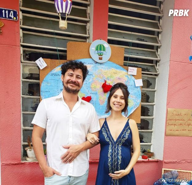 """Ex-""""Malhação"""", Daphne Bozaski decora quarto do primeiro filho no estilo DIY"""