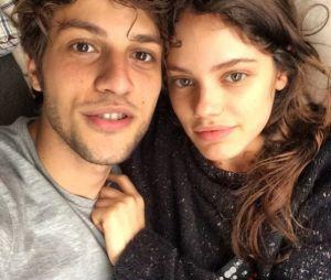 Chay Suede e Laura Neiva estão no maior love de novo