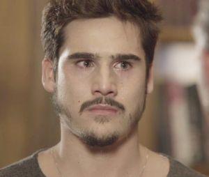 """Em """"O Tempo Não Para"""": Samuca (Nicolas Prattes) descobre que Lúcio (João Baldasserini) mandou implodir a SamVita"""