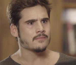 """Em """"O Tempo Não Para"""": Samuca (Nicolas Prattes) descobre que sua empresa pode ser destruída de vez"""