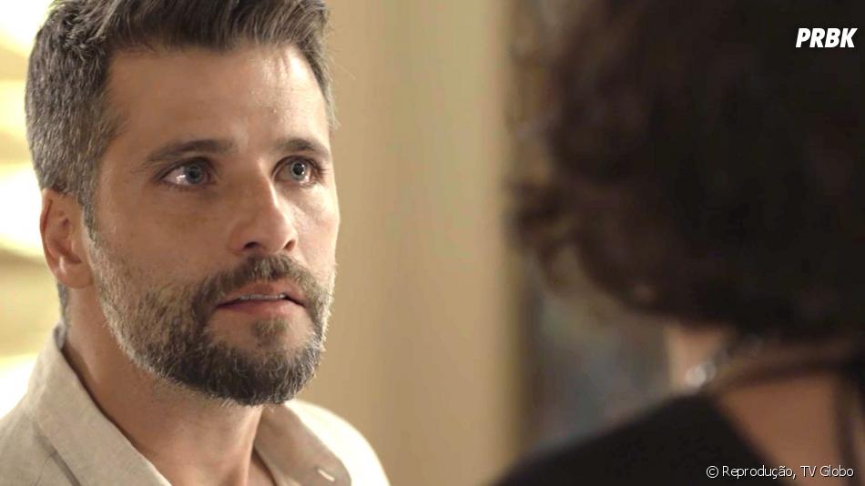 """Em """"O Sétimo Guardião"""": Gabriel (Bruno Gagliasso) se desespera após descobrir missão"""