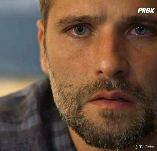 """Em """"O Sétimo Guardião"""": Gabriel (Bruno Gagliasso) decide fugir mas é impedido por León"""