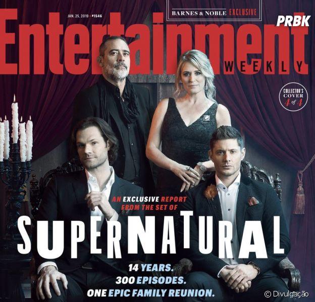 """De """"Supernatural"""": episódio 300 vai ao ar em fevereiro e essas primeiras imagens vão te deixar muito animado"""