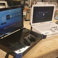PlayStation 4 e Xbox One em uma versão portátil, como se fosse um notebook