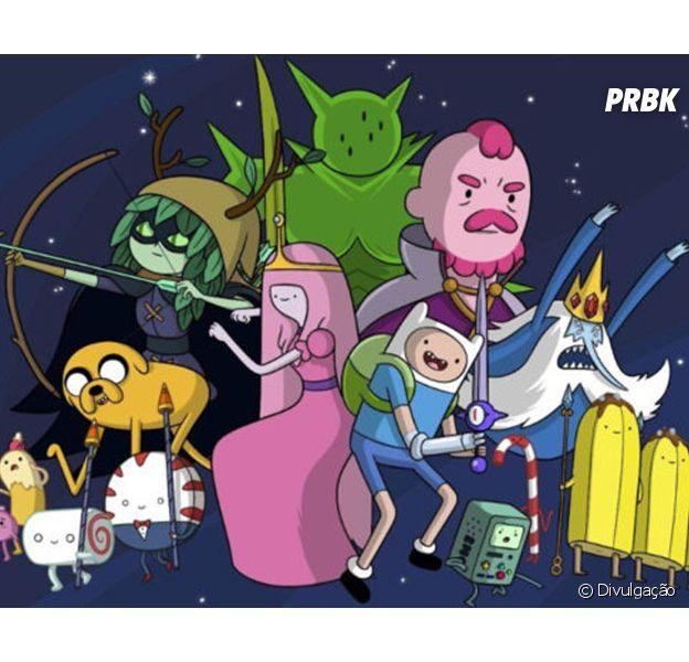 Com Hora De Aventura Steven Universo E Mais Veja Qual