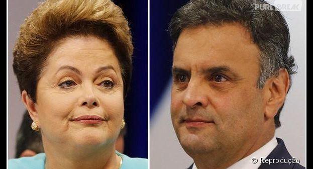 Dilma Rouseff e Aécio Neves participaram de mais um debate para as Eleições 2014