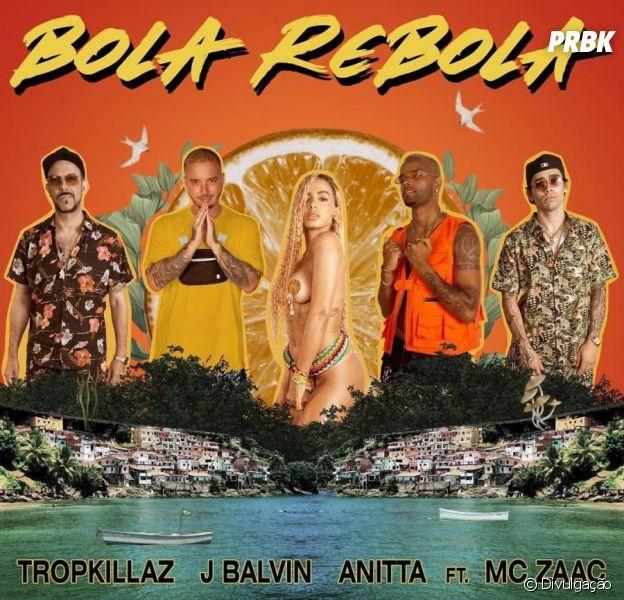 "Anitta libera ""Bola Rebola"", sua parceria com J Balvin, Mc Zaac e Tropkillaz"