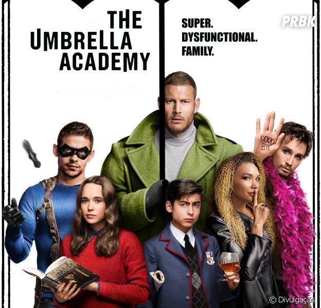 """Saiba quem é quem em """"The Umbrella Academy"""", a nova série da Netflix"""