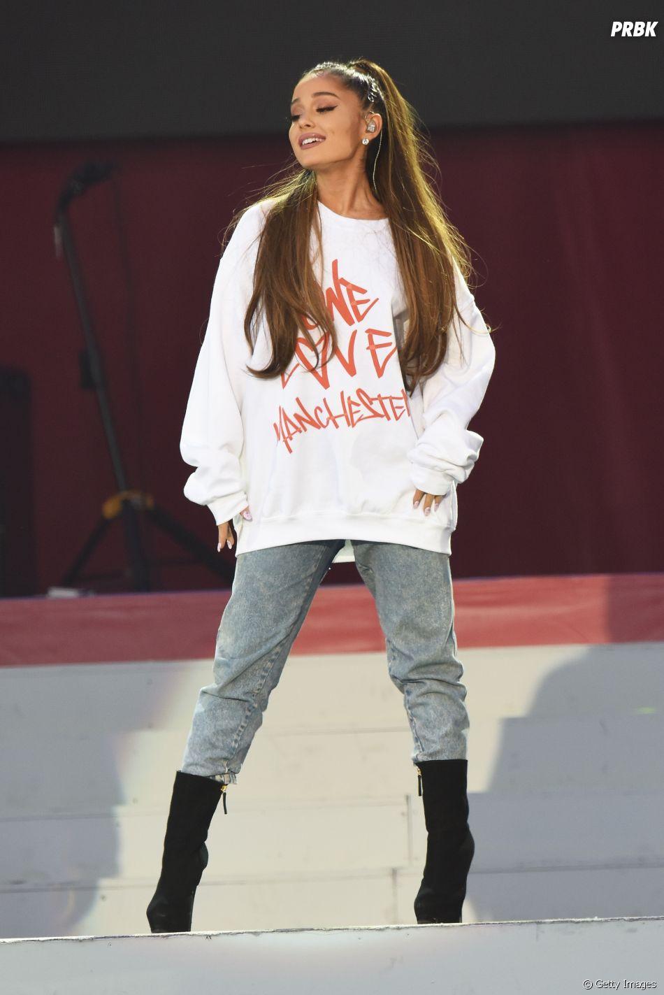 Ariana Grande mostra o cabelo natural nos Stories