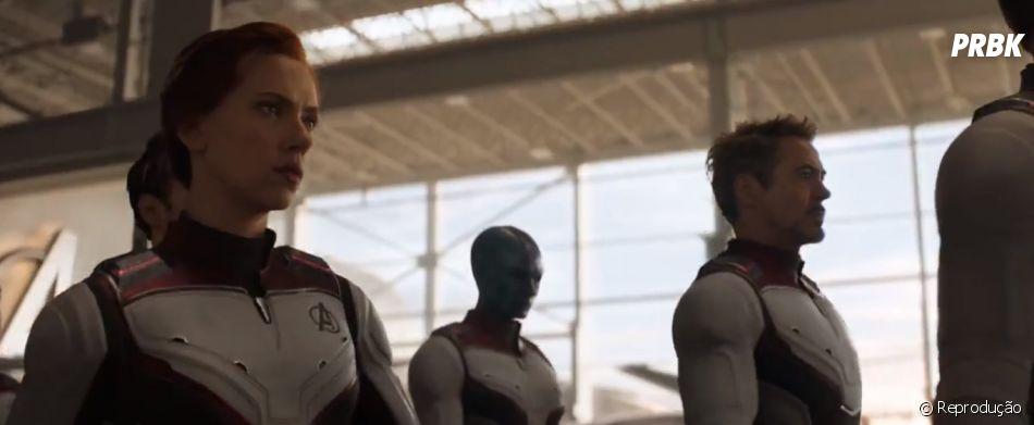 """Novos uniformes, novos integrantes! Vem assistir o novo trailer de """"Vingadores: Ultimato"""""""