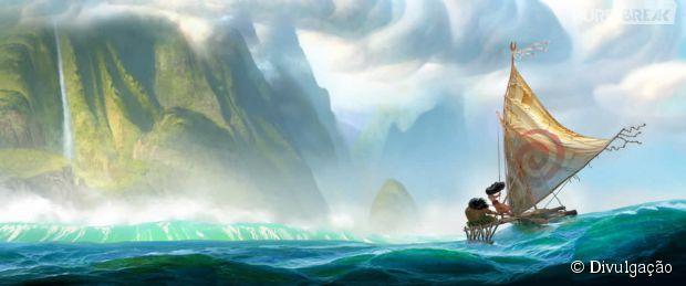 """""""Moana"""", nova animação da Disney realizada pelos mesmos diretores de """"Alladin"""" e """"A Pequena Sereia"""""""