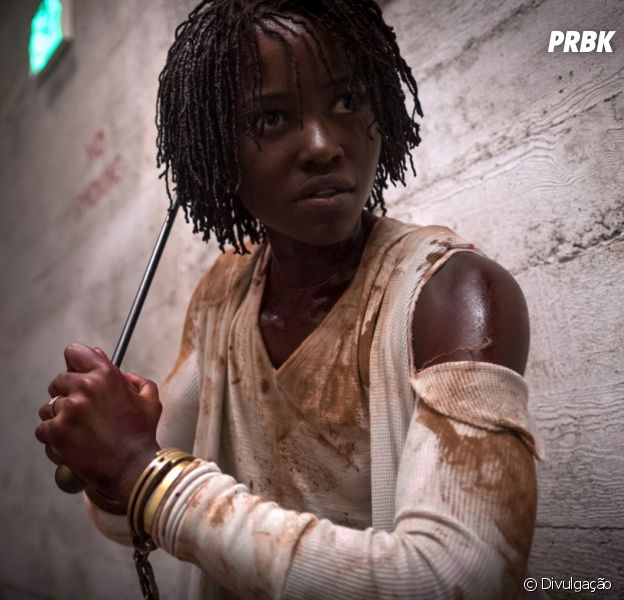 """Em """"Nós"""", Lupita Nyong'o sobrevive aos horrores criado por Jordan Peele"""