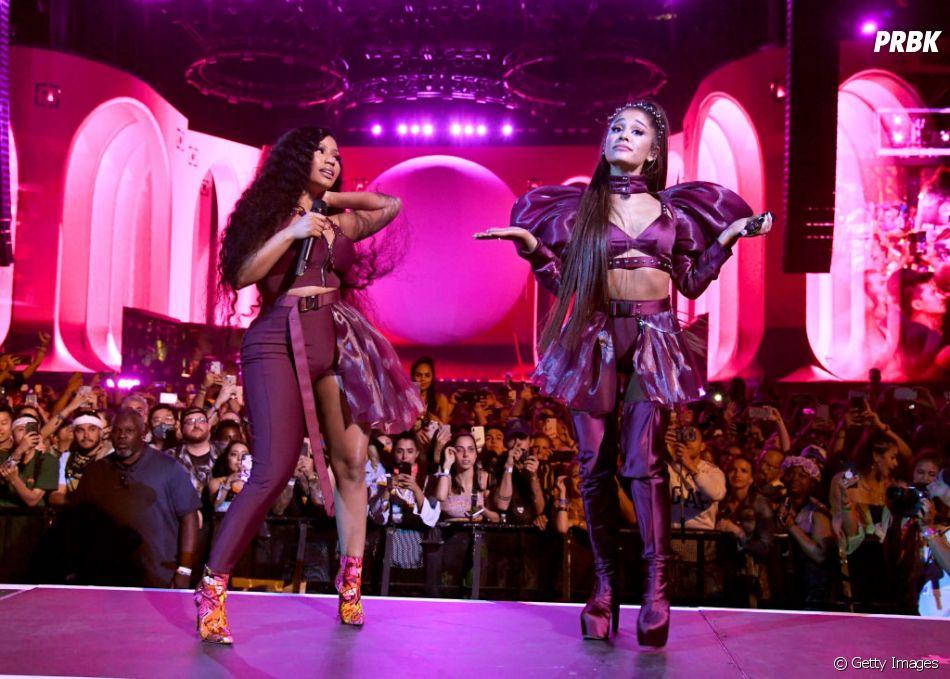 Ariana Grande convida Nicki Minaj para apresentação no Coachella 2019