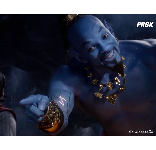 "De ""Aladdin"": novo trailer do filme mostra mais cenas do Gênio (Will Smith)"