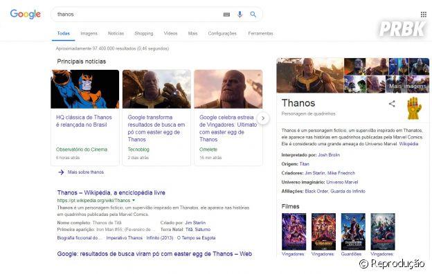 """Veja como utilizar novo recurso do Google inspirado em """"Vingadores: Ultimato"""""""