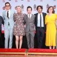 """Atores de """"The Big Bang Theory"""" participam de evento de inclusão na Calçada da Fama"""