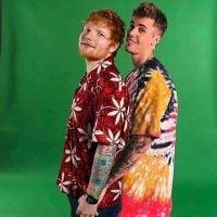 A parceria entre Justin Bieber e Ed Sheeran é real! Alias, você já pode escutar um trecho da música
