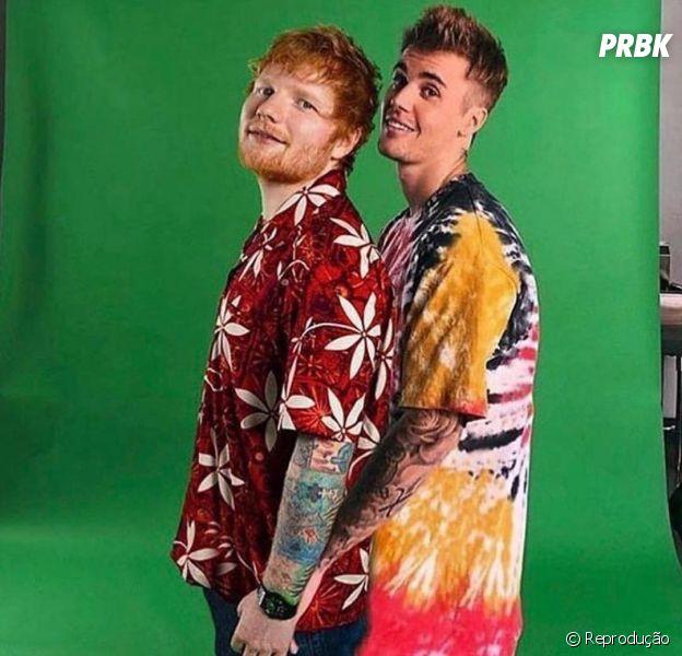 Justin Bieber e Ed Sheeran: ouça trecho da música nova aqui