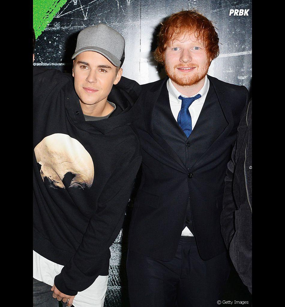 Justin Bieber e Ed Sheeran: música será lançada dia 10 de maio e trecho já foi divulgado
