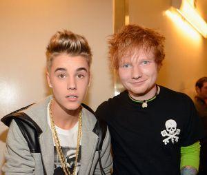 Justin Bieber e Ed Sheeran: os dois se conhecem há um bom tempo e só agora resolveram trabalhar juntos