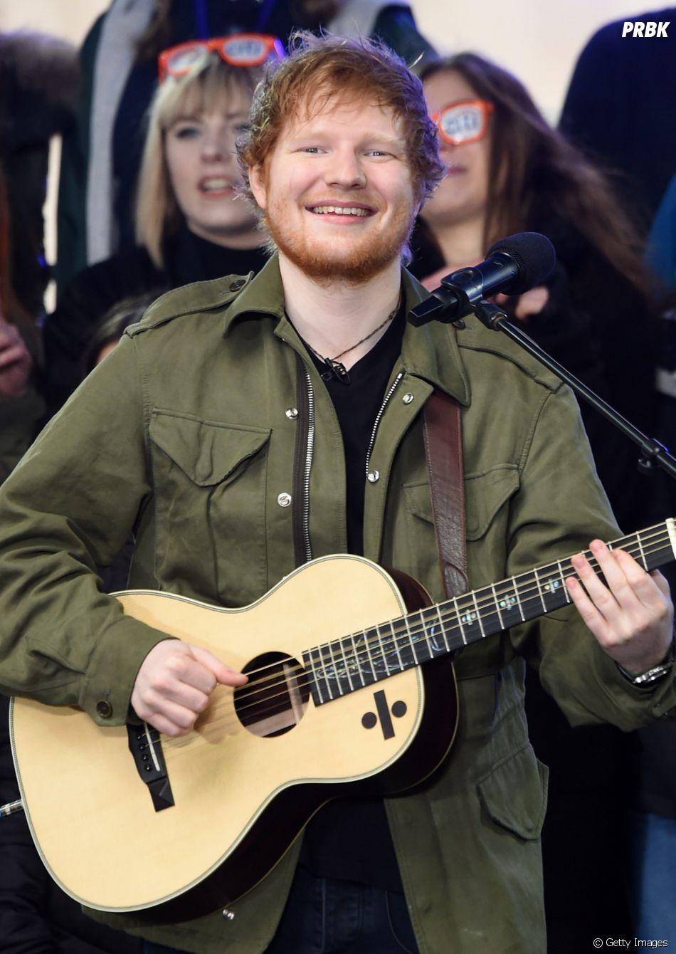 """O último álbum de Ed Sheeran, """"Divide"""", foi lançado em 2017"""