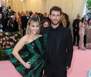 Miley Cyrus e Liam Hemsworth no Met Gala 2019
