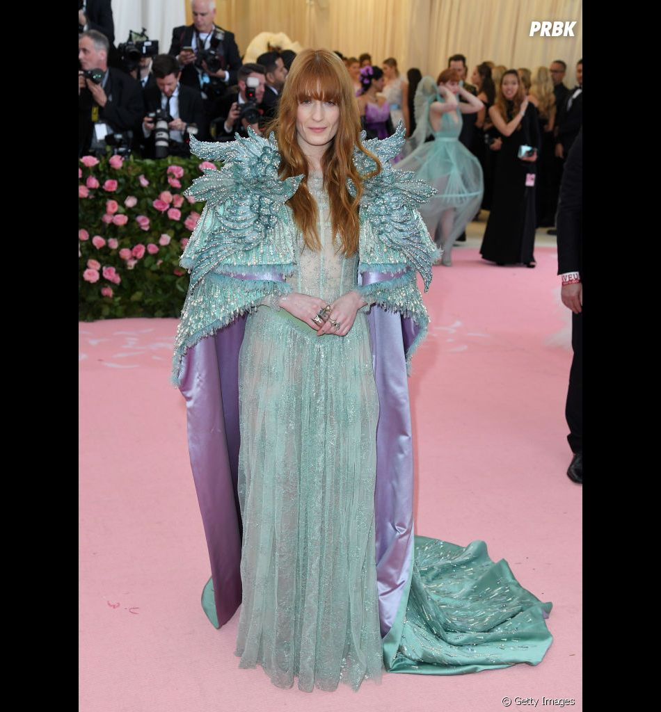 Florence Welch, do Florence and The Machine, no Met Gala 2019