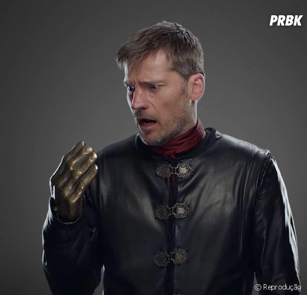 """Em """"Game of Thrones"""": mão deJaime Lannister(Nikolaj Coster Waldau) reaparece intacta em erro de continuação na série"""