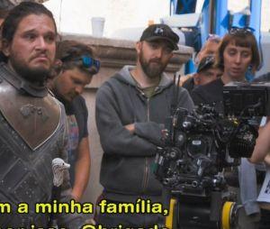 """Kit Harington se declarou para equipe de """"Game of Thrones"""" em documentário"""
