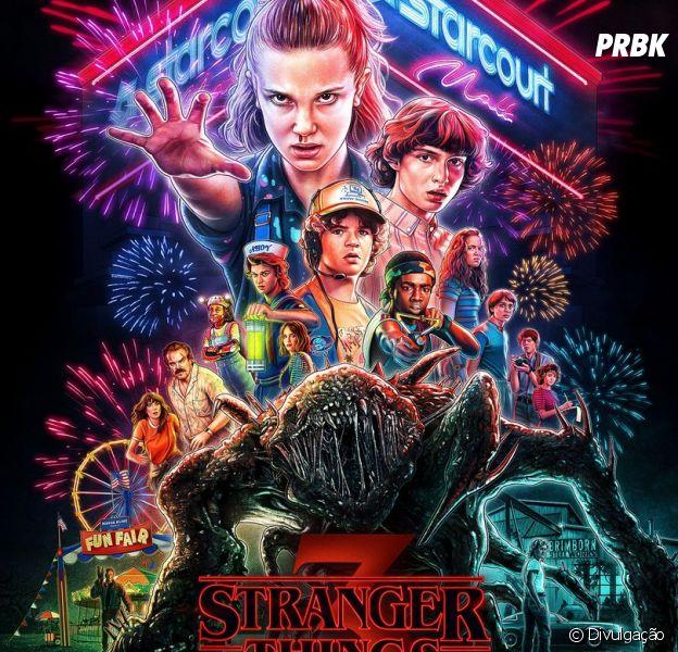 """""""Stranger Things"""": Netflix divulga novo pôster da série"""