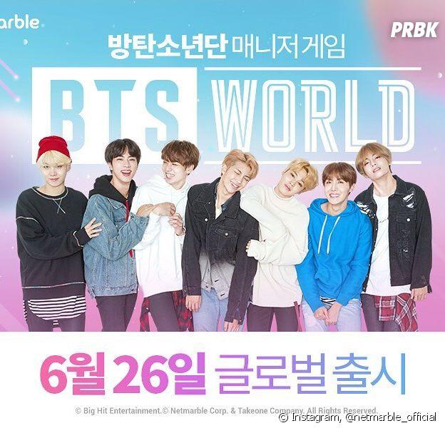 BTS World será lançado no dia 26 de junho!