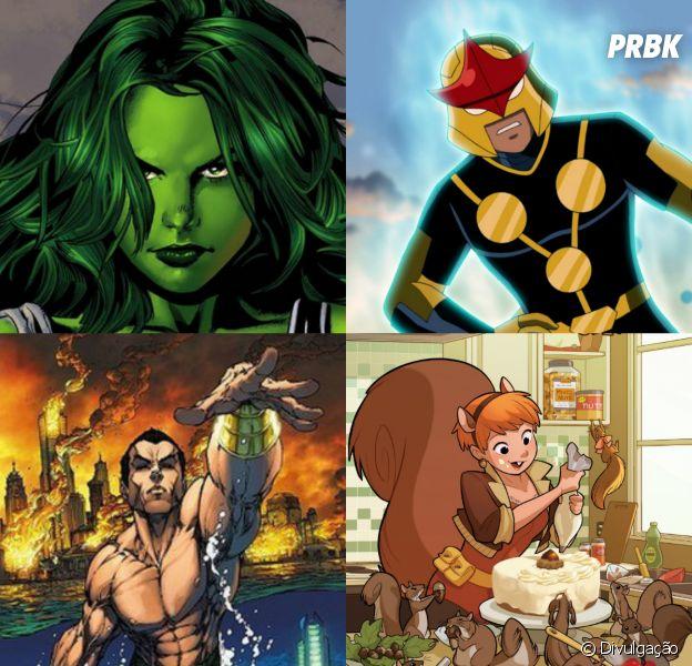 Esses são os heróis que devem aparecer na Fase 4 de filmes da Marvel