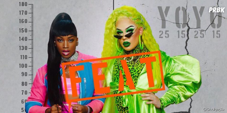 """Gloria Groove: parceria com Iza se chama """"YoYo"""" e será lançada no dia 13 de junho"""