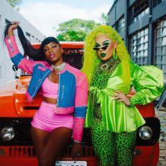 """""""Telephone"""" brasileiro? Gloria Groove confirma nova parceria com Iza"""