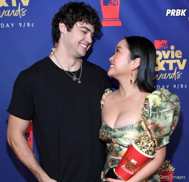 """Noah Centineo e Lana Condor ganharam o prêmio de Melhor Beijo por """"Para Todos os Garotos que Já Amei"""" noMTV Movie & TV Awards 2019"""