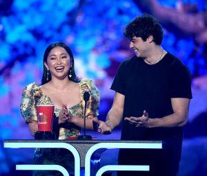 Noah Centineo fez um agradecimento especial a Lana Condor noMTV Movie & TV Awards 2019