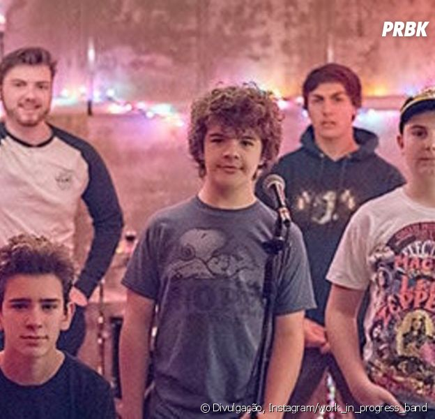 Você sabia que o Gaten Matarazzo tem uma banda? Conheça a Work In Progress