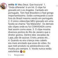 Entenda por que a Anitta foi acusada de apropriação cultural mais uma vez!