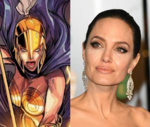 """Angelina Jolie será Thena no filme """"Os Eternos"""""""