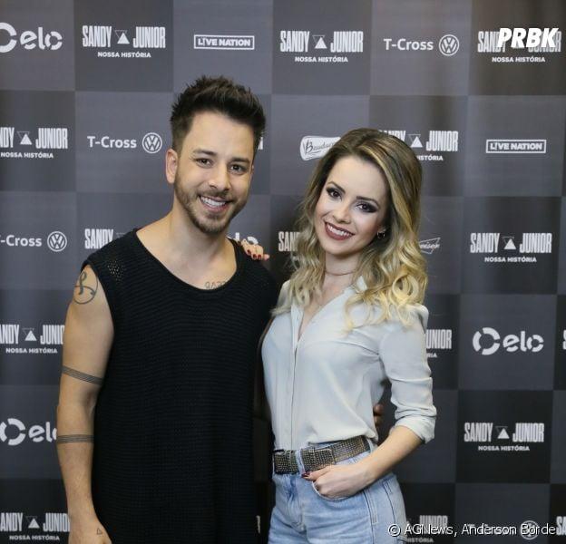 """Sandy e Junior fizeram o primeiro show da turnê """"Nossa História"""" no Rio de Janeiro na última sexta (2)"""