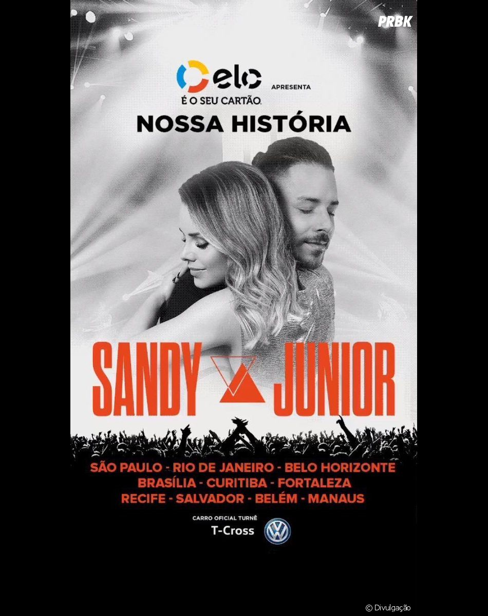 Sandy e Junior: último show será no Rio de Janeiro, dia 9 de novembro