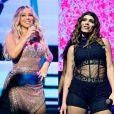 Anitta ganha comentário de Mariah Carey em foto do Instagram e fica emocionada
