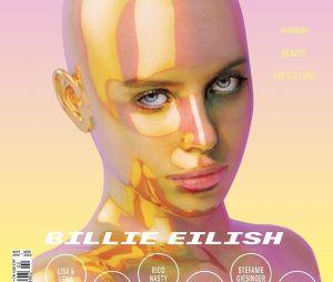 Revista justificou que imagem de Billie Eilish se trata de uma arte 3D